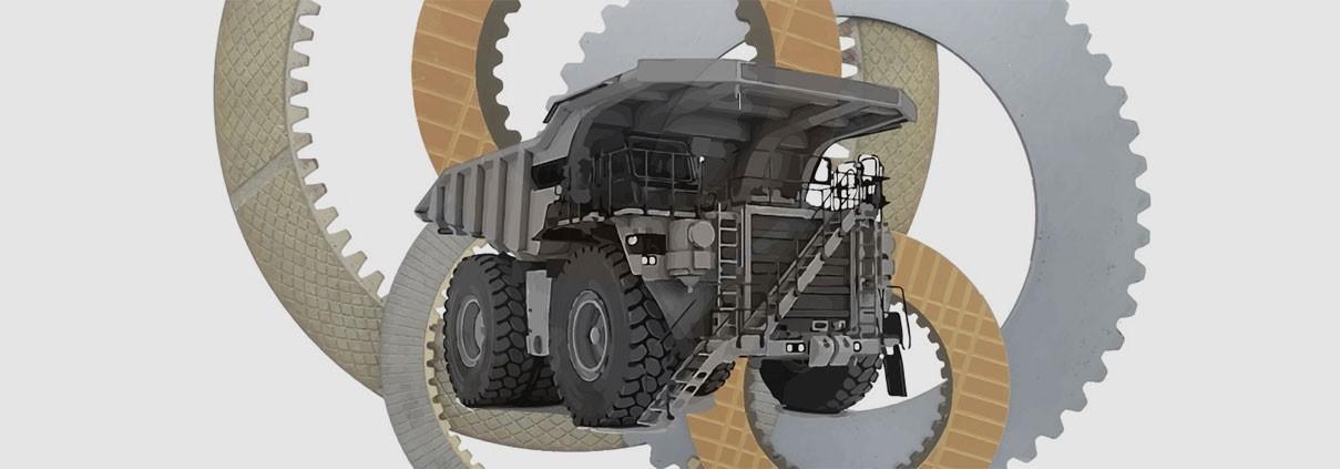 wet brake transmission discs